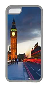 TYHde Big Ben Uk London City Street Custom iPhone 4/4s Case Cover TPU Transparent ending