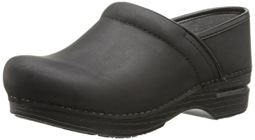 Dansko Women's Wide Pro XP Mule, Black Oiled, 38 EU/7.5-8 W US