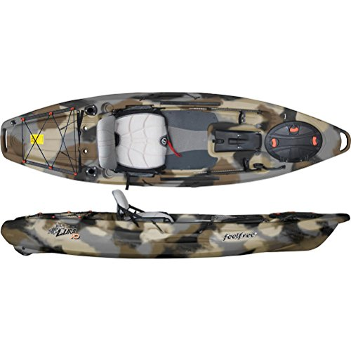 Feel Free Lure 10 Fishing Kayak 2016 - 10ft/Winter Camo