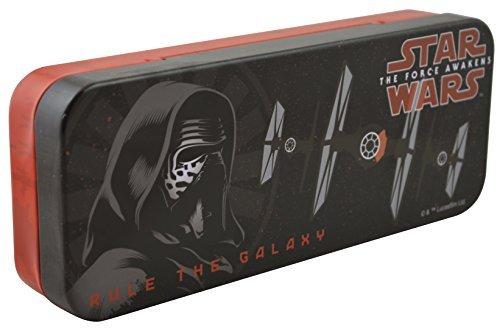 Disney Star Wars The Force Awaken - Metal Tin Case Pencil Box (DARK V)