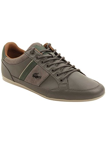 Chaymon Men's Dark Lacoste 417 1 Sneaker Grey d5nxqSzwx