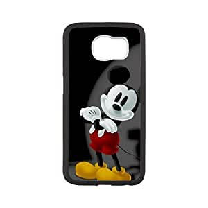 Flexible Durable TPU Samsung Galaxy s6 Case, Mickey Mouse Back Cover For Galaxy s6 (Laser Technology)