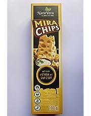 Natu Vera MIRA Potato CHIPS with taste of cheese and sour cream 100g