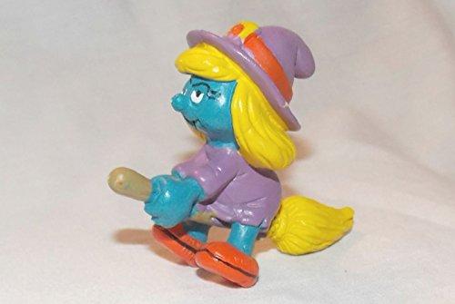 (Smurfs 1982 Vintage Smurfette Witch 2.25