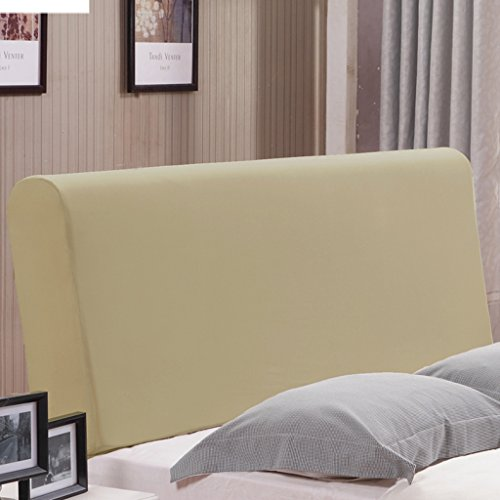 Fityle Stretch Wooden Leather Bed Headboard Cover Protector Slipcover For 140-170cm - Champagne by Fityle (Image #3)
