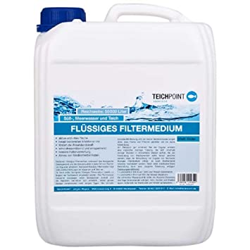 Estanque Point fluida filtro Medium 5 litros, para agua mar y agua dulce Acuarios y estanques de jardín): Amazon.es: Productos para mascotas