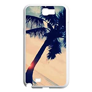 Custom Samsung Galaxy Note 2 N7100 Case, Zyoux DIY Brand New Samsung Galaxy Note 2 N7100 Case - Palm Trees