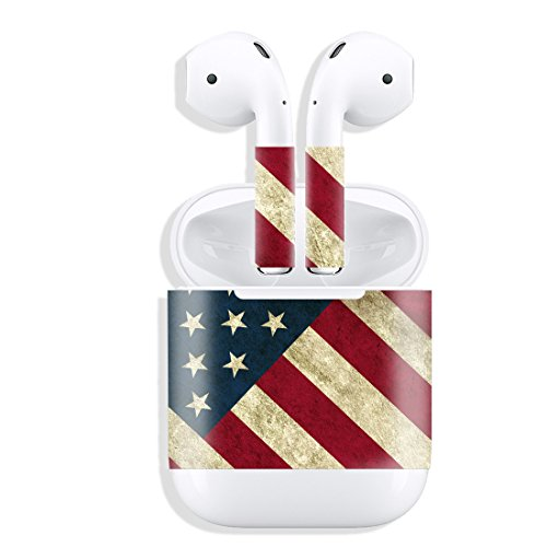 - AirPod Skins Protective Sticker AirPod Cover & Decal for Apple AirPod (American Flag)