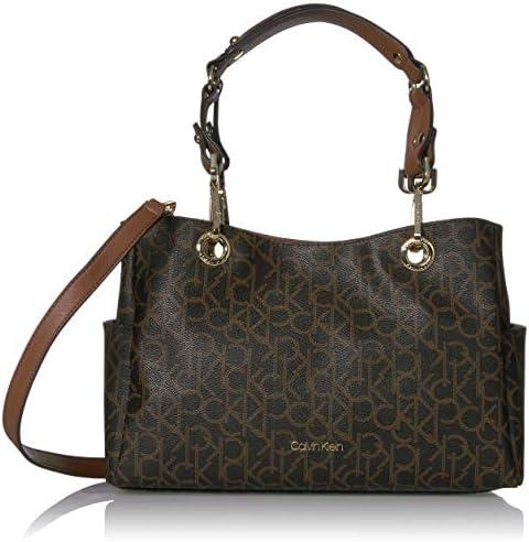 Fashion Calvin Klein BrownKhakiLuggage Bags Women's