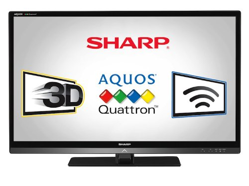 Sharp LC40LE835U Quattron 40 inch LED LCD
