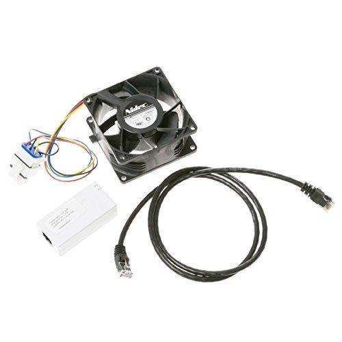 (GE Refrigerator Evaporator Fan Motor WR60X26866, WR60X26033)
