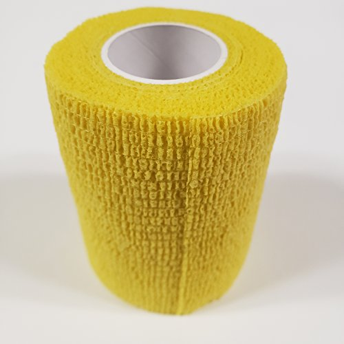 - First Voice TS-3183-Y Self Adhesive Bandage, Latex, 3