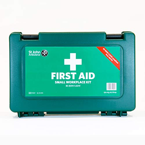 St John Ambulance Kleine standaard werkplek EHBO-kit B8599-1: 2019
