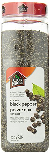 Club House Pepper Black Cracked, 520 Gram