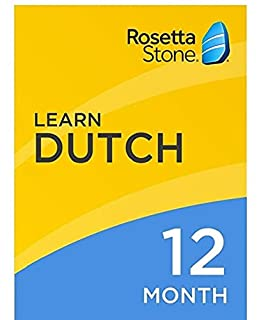 [OLD ASIN] Rosetta Stone: Learn Dutch for 12 months on iOS, Android, PC, and Mac [Activation Code by Mail] (B07HGGQ377) | Amazon price tracker / tracking, Amazon price history charts, Amazon price watches, Amazon price drop alerts