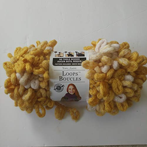 Loops boucles Loops and Threads Mustard Seed - Yarn Loop