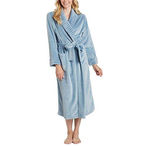 Carole Hochman Ladies' Plush Wrap Robe (Medium, Navy) ()