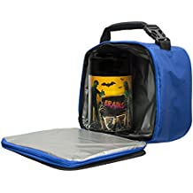 Drop and Twist Zombies with Lunch Box, Blue