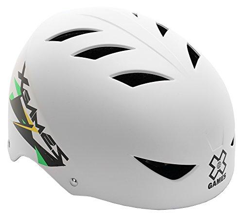 X-Games Multi-Sport Helmet, Matte White