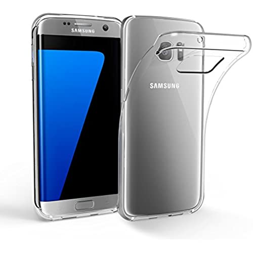 Galaxy S7 Edge Case, EasyAcc S7 Edge Soft TPU Cover Crystal Transparent Slim Anti Slip Back Protector Shockproof Sales