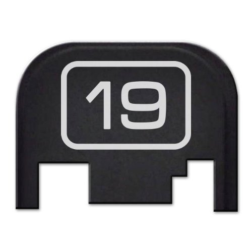 Fixxxer Model Series Rear Cover Plate Glock (19) Fits Most Models (Not G42, G43) Generations (Not Gen 5)