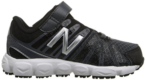 New Balance KV888V1 Pre Running Shoe (Little Kid) Black/White