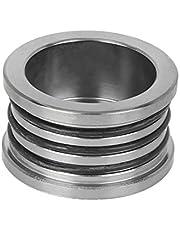 X AUTOHAUX Car Modified Aluminum Alloy Camshaft Oil Seal Cover Cap Triple O Ring Plug Replacement Titanium Tone for Honda