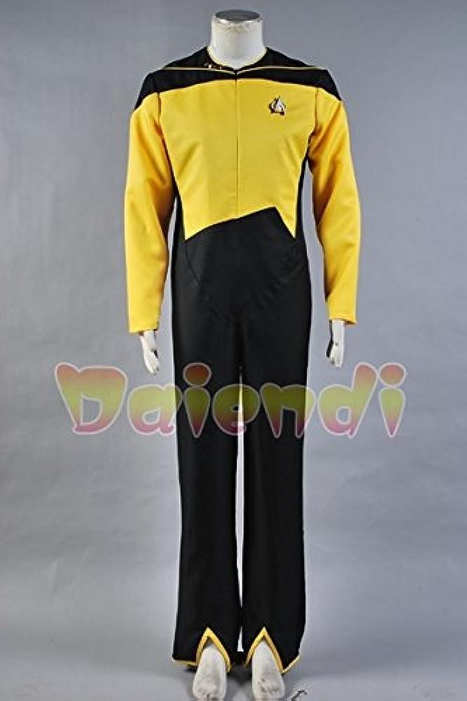 Daiendi Star Trek seguridad/deber operaciones uniforme amarillo ...