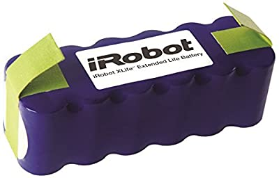 Authentic iRobot Parts - XLife Extended Life Battery - Compatible with Roomba 500/600/700/800 Series Robots