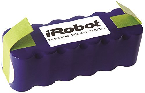 iRobot Authentic Parts - XLife Extended Life Battery - Compatible Roomba 400/600/700/800 Series Robots by iRobot
