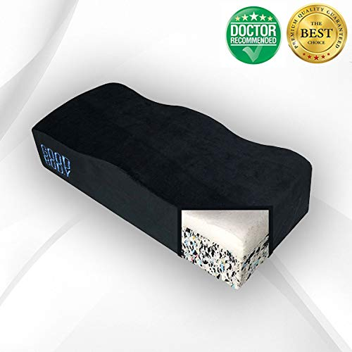 BBL Pillow, Brazilian Butt Lift Recovery Pillow, BBL Recovery Pillow, Booty Pillow, Butt Pillow Dual Layerd - Perfect for Office Chair, Car, Airplane, Restaurant, Wheelchair - by Good Body Brand ()
