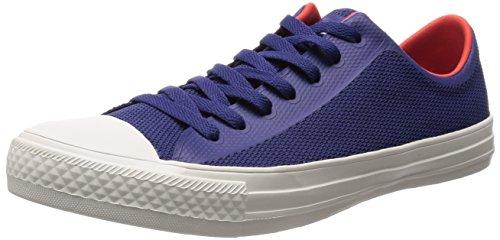 Calzado Deportivo Para Hombre Phillips 3d Impreso Malla Zapatillas De Moda Azul / Rojo