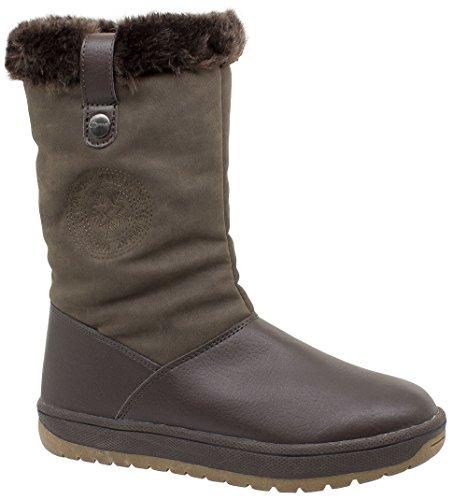 3404 da Snow Boots Kefas donna Brown Laurel 7Xqw05P