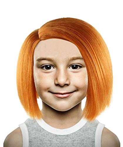 Chucky Curse of Evil Doll Wig, Orange Kids HM-180]()