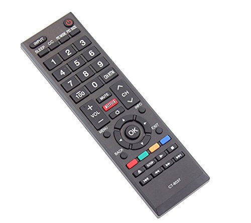 how to open a toshiba tv remote control
