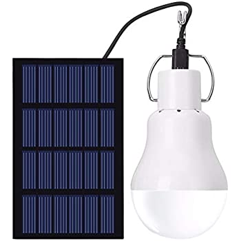 EleLight Portable Solar LED Bulb Lights Solar Powered