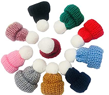 Miniature Balls of Wool ~ PURPLE ~ PACK OF 6