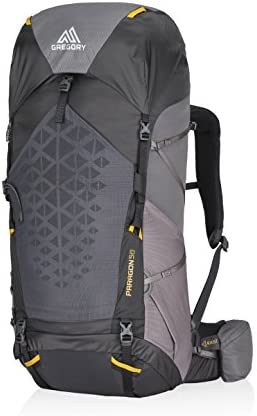Gregory Mountain Products Paragon 58 Liter Men s Lightweight Multi Day Backpack Raincover Included,Hydration Sleeve and Day Pack Included, Lightweight Construction Lightweight Comfort on the Trail