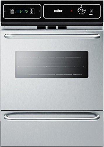 Summit TEM721BKW Kitchen Cooking Range, Stainless Steel