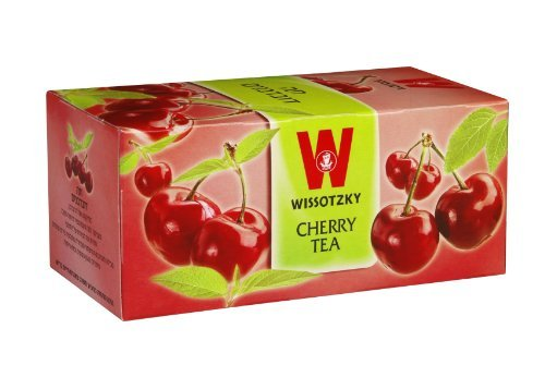 Wissotzky Tea Cherry Tea /Box of 25 bags [Misc.]