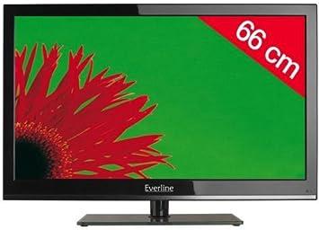 Ever Line televisor LED 26eve4 N66hc – Negro HD TV, 66 cm (26 Pulgadas) 16/9, DVB-T HD, HDMI X3, USB 2.0 x2 + 3 años de garantía: Amazon.es: Electrónica