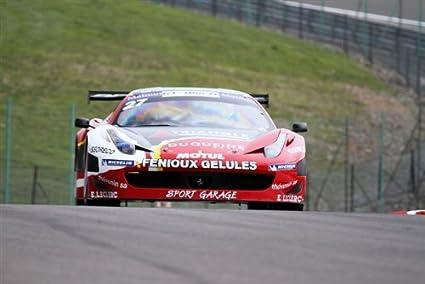 Amazon Com Ferrari 458 Gt3 Italia F458 Red Front Hd Poster Race Car