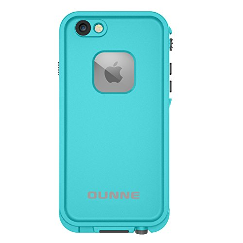 iPhone 6/6s waterproof case with 2 Case Openers, OUNNE IP68 Certified Waterproof Shockproof Dustproof Cases Supports Touch ID With Underwater Full Body Cover Protective for iPhone 6/6s(4.7inch)-Blue