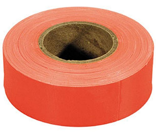 - Irwin 65602 Strait-Line 150' Orange-Glo Fluorescent Flagging Tape
