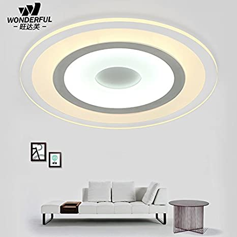 Ceiling Lights & Fans Bedroom Lamp Led Warm Romantic Room Light Simple Modern Round Iron Art Lamp Creative Living Room Ceiling Lamp
