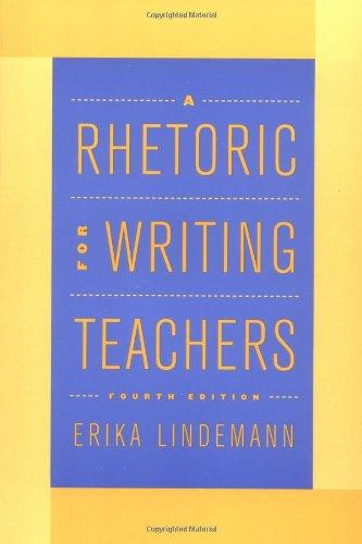 A Rhetoric for Writing Teachers PDF
