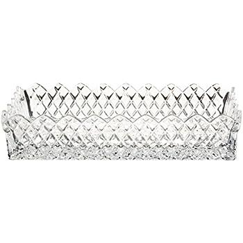 Amazon.com | Waterford Crystal Lismore Rectangular Tray: Serveware ...