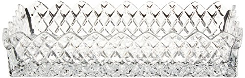 Crystal Serving Platters - Fifth Avenue Crystal Muirfield Bread Tray