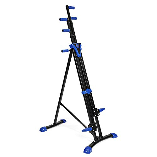 Vertical Climber Fitness Climbing Machine Folding Step Climber Exercise Equipment for Home Gym Workout by shaofu