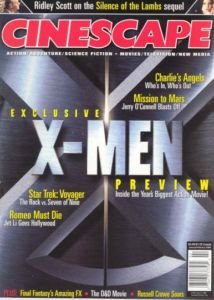 Cinescape January/February 2000: Exclusive X-Men Preview, Star Trek Voyager, Romeo Must Die, Mission to Mars, Charlie's Angels